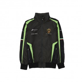 Lambo Corse Men's Replica Windbreaker (Detachable Sleeves)