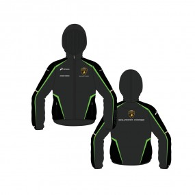 Lambo Corse Kids Windbreaker