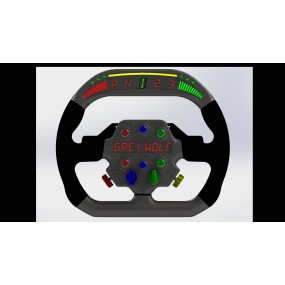 GT / RALLY HALO STEERING WHEEL