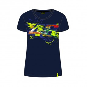 VR 46 Winter T-shirt Donna