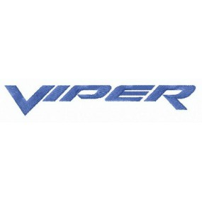 Viper Brand Iron-on Patches...