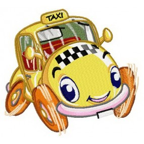 Willy the Taxi Iron-on...