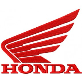 Honda Wings Iron-on Patches...